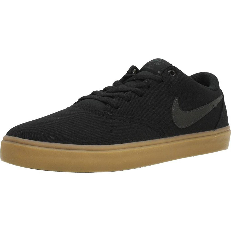 Nike 843896-009: SB Check Solar Soft Mens Black Gum Sneaker (8 D(M) US Men)
