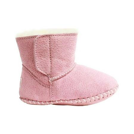 Lamo Baby Bootie Pink Mid-Top Suede Boot - 8M