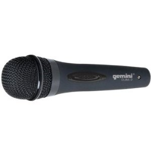 Gemini DJM-2 Professional Dynamic Stage Microphone by GCI