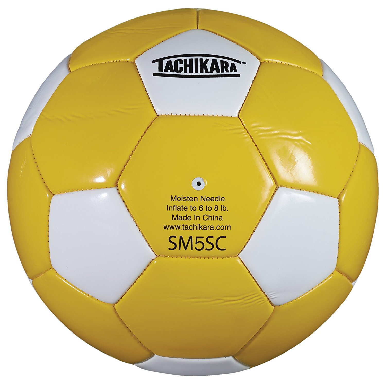 SM5SC Soccer Ball (Size 5), Kelly/White, This ball is sold and shipped deflated. By Tachikara