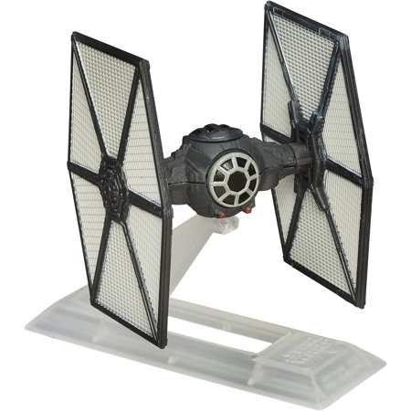 Star Wars: The Force Awakens Black Series Titanium First Order TIE (Star Wars Black Series Titanium Tie Fighter)