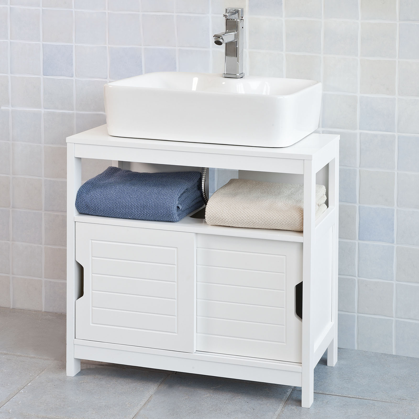 White Under Sink Bathroom Storage Cabinet haotian frg128-w, white under sink bathroom storage cabinet with