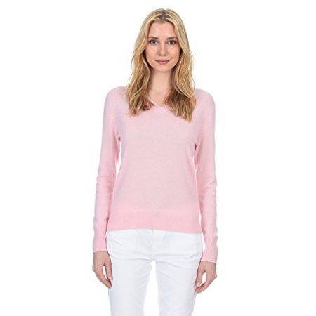 State Fusio Womens Cashmere Wool Long Sleeve Pullover V Neck Soft and Classic Fashion Sweater