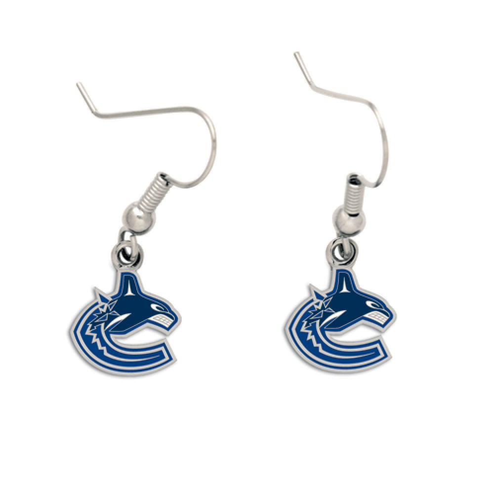Vancouver Canucks Official NHL 1 inch  Earrings by Wincraft