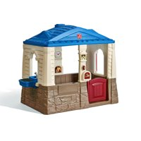 Step2 Neat and Tidy Cottage Blue Playhouse, for Toddlers