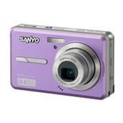 Refurbished Sanyo VPC-E1075 10.0 MP Compact Digital Camera