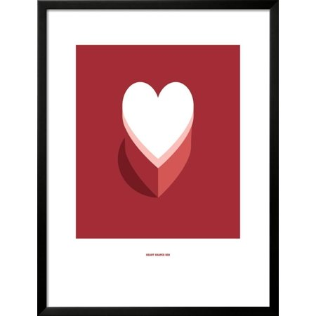 Heart Shaped Box: Nirvana Framed Giclee Print Wall Art By Christophe ...