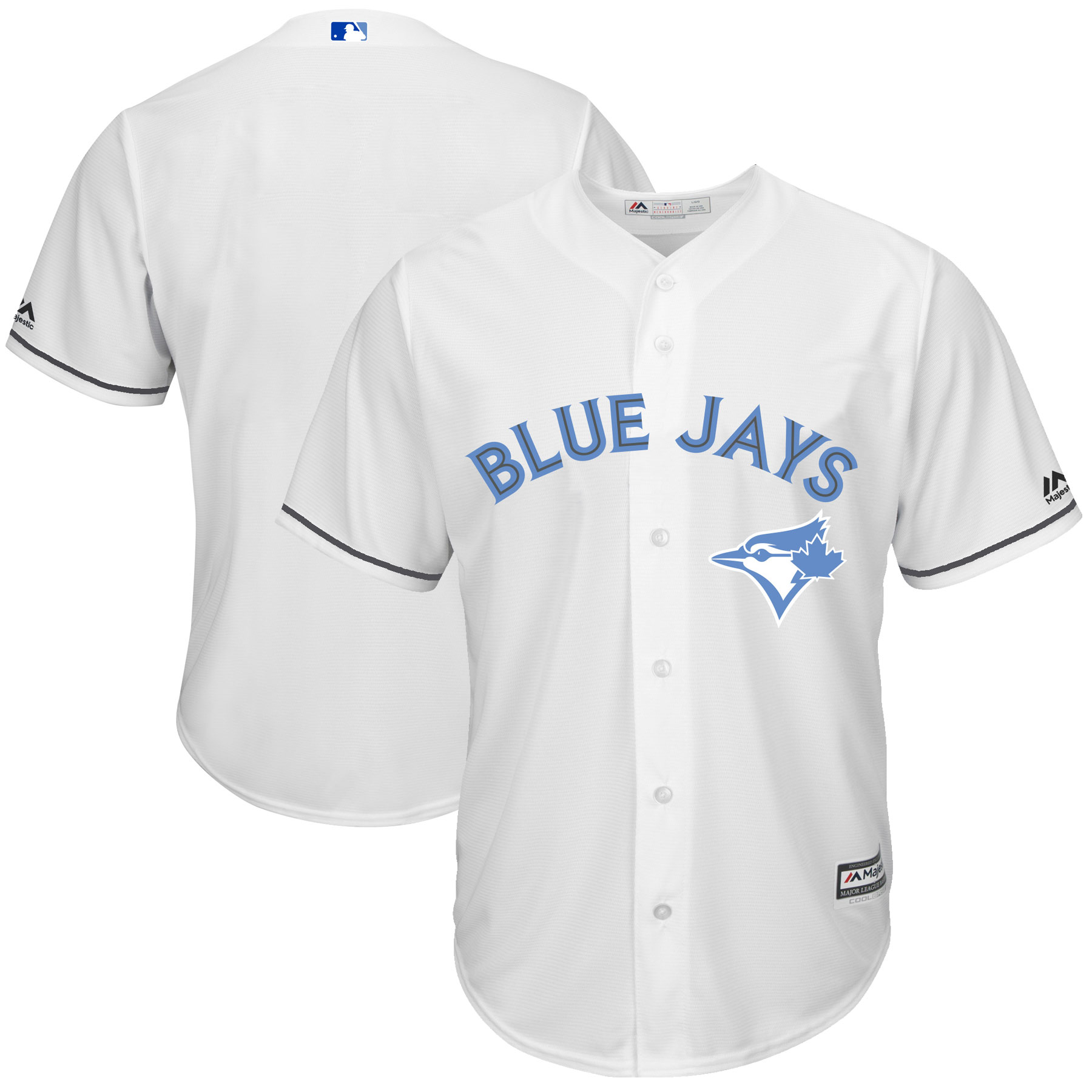 Toronto Blue Jays Majestic Father's Day Cool Base Replica Team Jersey - White