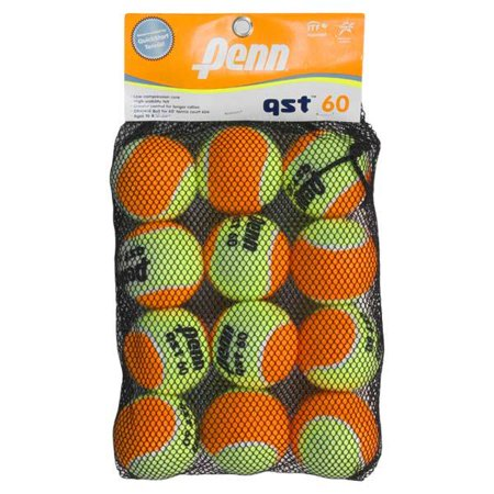 QST 60 12 Tennis Ball Mesh (Mesh Bag Tennis Balls)