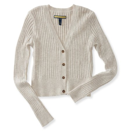Aeropostale Aeropostale Juniors Cable Knit Cardigan Sweater