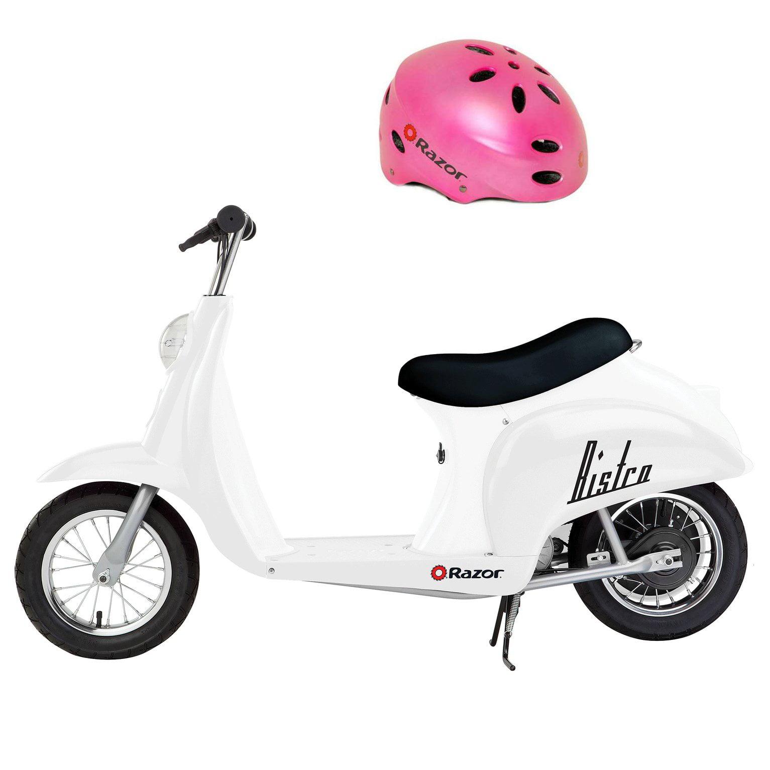 Razor Pocket Mod Mini Euro 24V 250W Toy Electric Motorized Scooter & Helmet by Razor