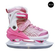 Ice Skate Shoes Children Adult Beginner Adjustable Ice Hockey Ice Skate Blade Thickened Students Speed Skating Shoes Warm Skates