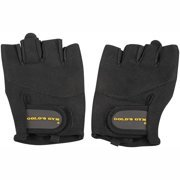 Golds Gym Classic Training Gloves with Half-Finger Design