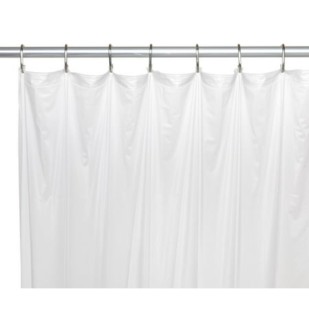 Royal Bath Extra Long Heavy 8 Gauge Vinyl Shower Curtain Liner Size 72 Wide X