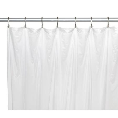 Royal Bath Extra Long Heavy 8 Gauge Vinyl Shower Curtain Liner Size 72 Wide X