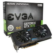 EVGA GeForce GTX 970 4GB Superclocked+ ACX 2.0 Graphics Card