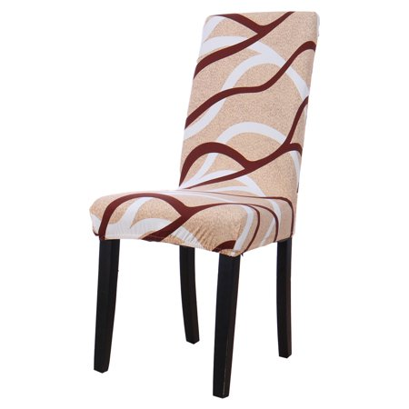 Pattern Dining Chair Cover Stretch Bar Stool Slipcover Washable Kitchen  Chair Protector for Home Decor Dining Room