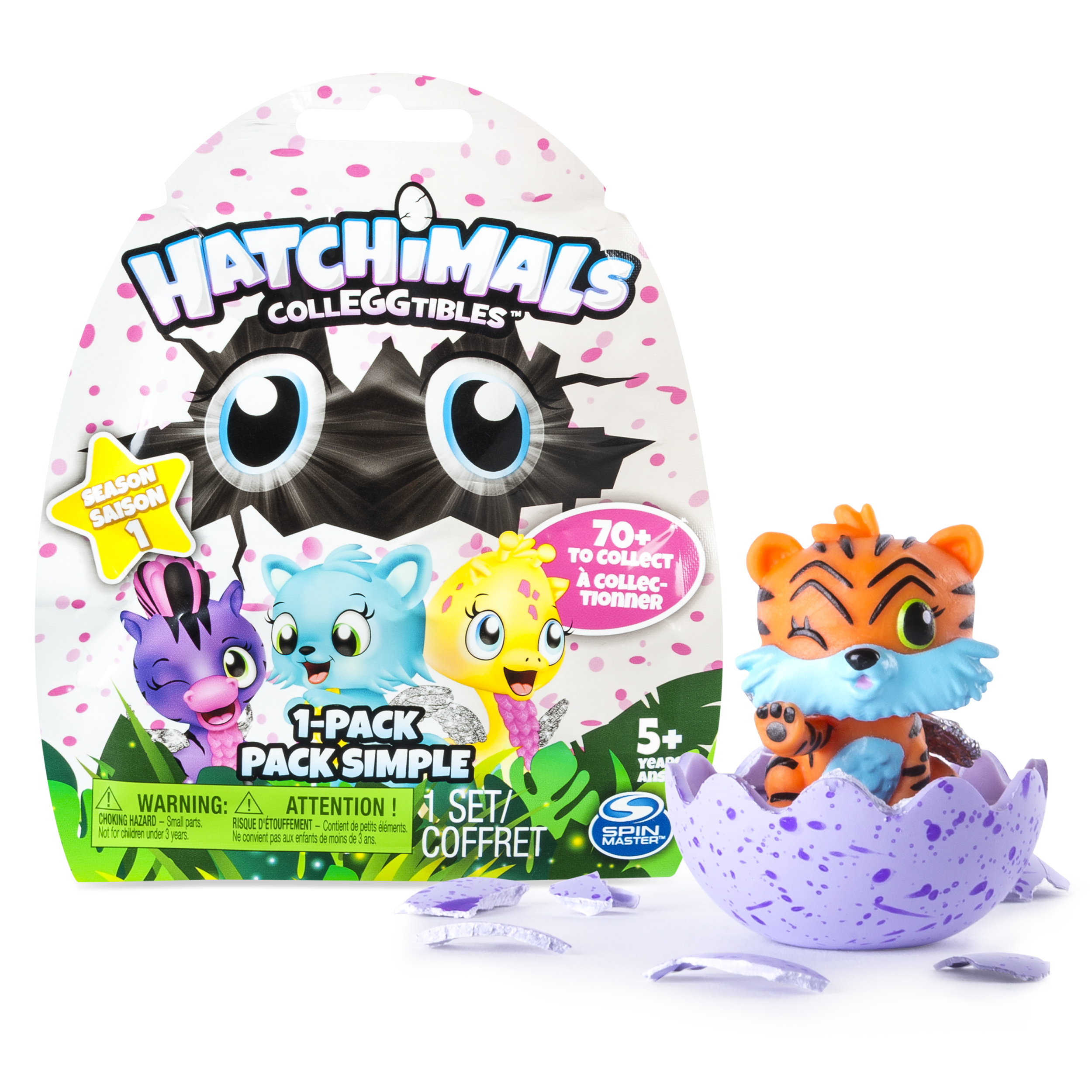 Hatchimals, CollEGGtibles, 1 Pack (Styles & Colors May Vary) by Spin Master