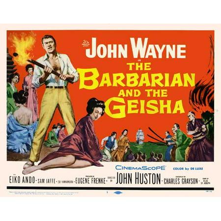 Homemade Geisha Costume (The Barbarian and the Geisha POSTER (22x28) (1958) (Half Sheet Style)