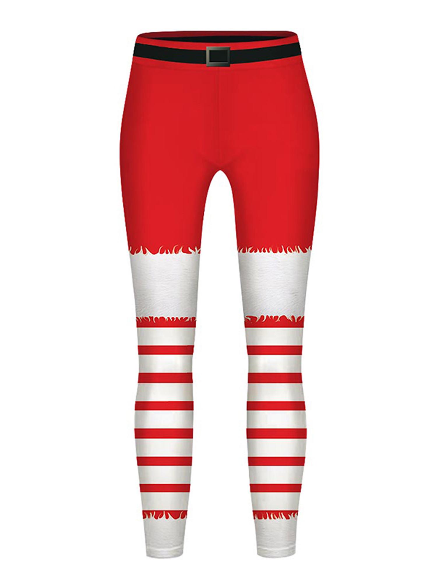 Infant /& Toddler Girls Red Sloth Leggings Knit Christmas Holiday Pants