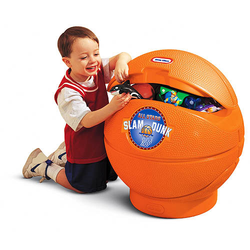 Little Tikes Classic Basketball Toy Chest Walmart Com
