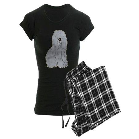 CafePress - Old English Sheep Dog - Women's Dark Pajamas](Womens Sheep Pajamas)