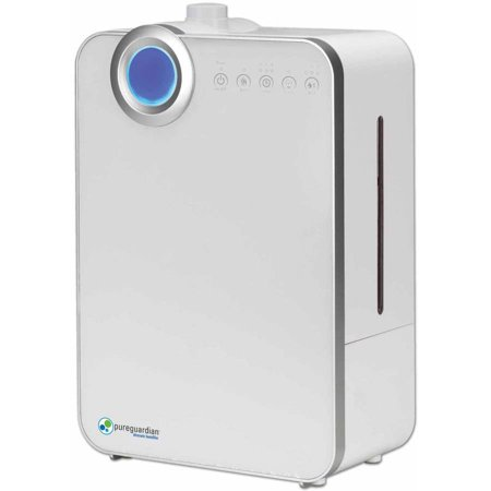 PureGuardian H7500 90-Hour Elite Ultrasonic Warm and Cool Mist Humidifier, 1.32 Gallons