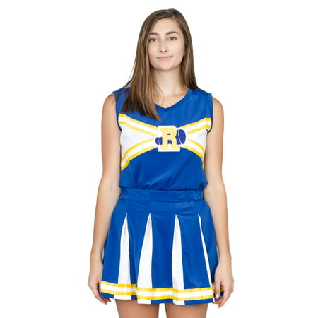 Riverdale Cheerleader High School Costume - Patriot Cheerleaders Halloween Costumes