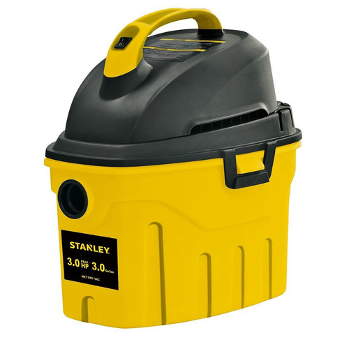 Stanley  3 gallon, 2.5-peak horse power, wet dry vacuum