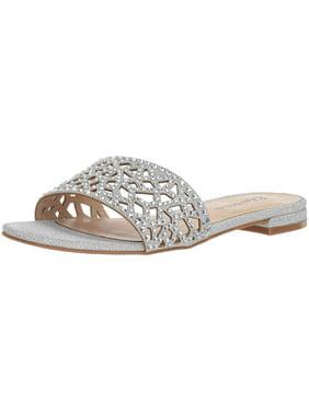 19ea8159610 Product Image Zigi Soho Womens Taniya Open Toe Bridal Slide Sandals