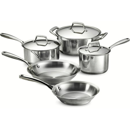 Tramontina Gourmet Prima 8 Piece Stainless Steel Cookware Set (Tramontina 8 Piece)