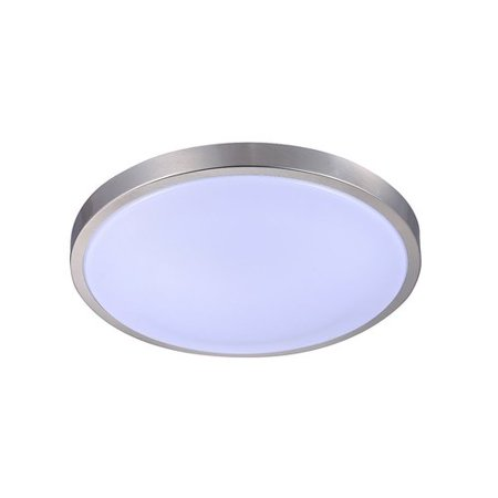 Latitude Run Toups 1-Light LED Flush - Led Run