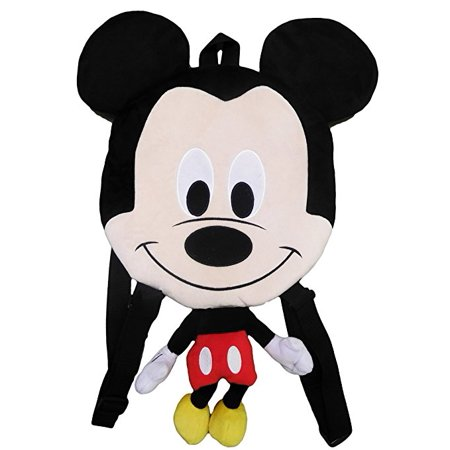 Mickey Mouse Plush 13 Inch Small 3D Novelty Backpack - Novelty Backpacks