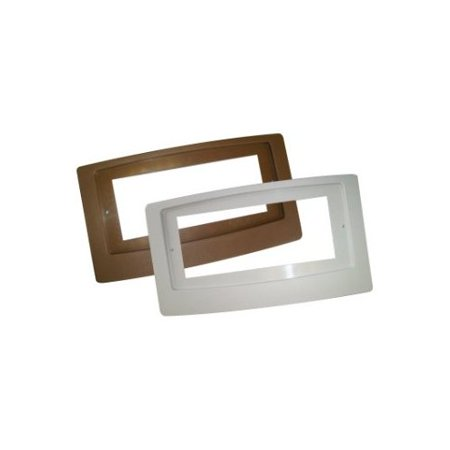 Flush Mount Adaptor Plate for the Flush Mount Heating and Air Conditioning Booster Fan, White 2 (A To Z Air Conditioning And Heating)