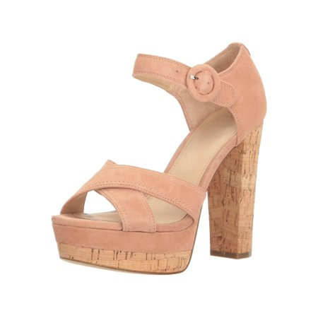 Guess Lined Sandals - Guess Womens Parris Suede Open Toe Casual Strappy Sandals