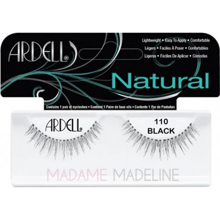 2a277fef364 Ardell Fashion Lashes, [110] Black 1 pair - Walmart.com