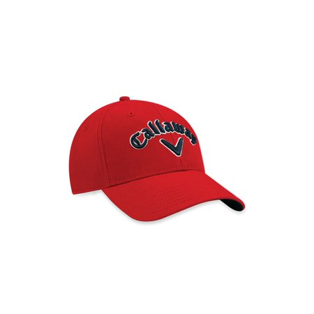 978662685c0 Callaway Heritage Twill Hat (Red Navy White