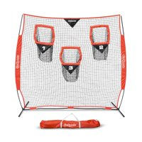 GoSports 6 x 6 Football Training Target Net   Improve QB Throwing Accuracy  Includes Foldable Bow Frame and Portable Carry Case