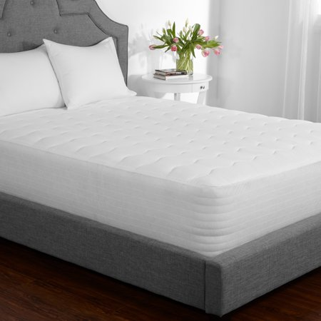 Mainstays Extra Thick Mattress Pad 7.5 oz fill in Multiple Sizes