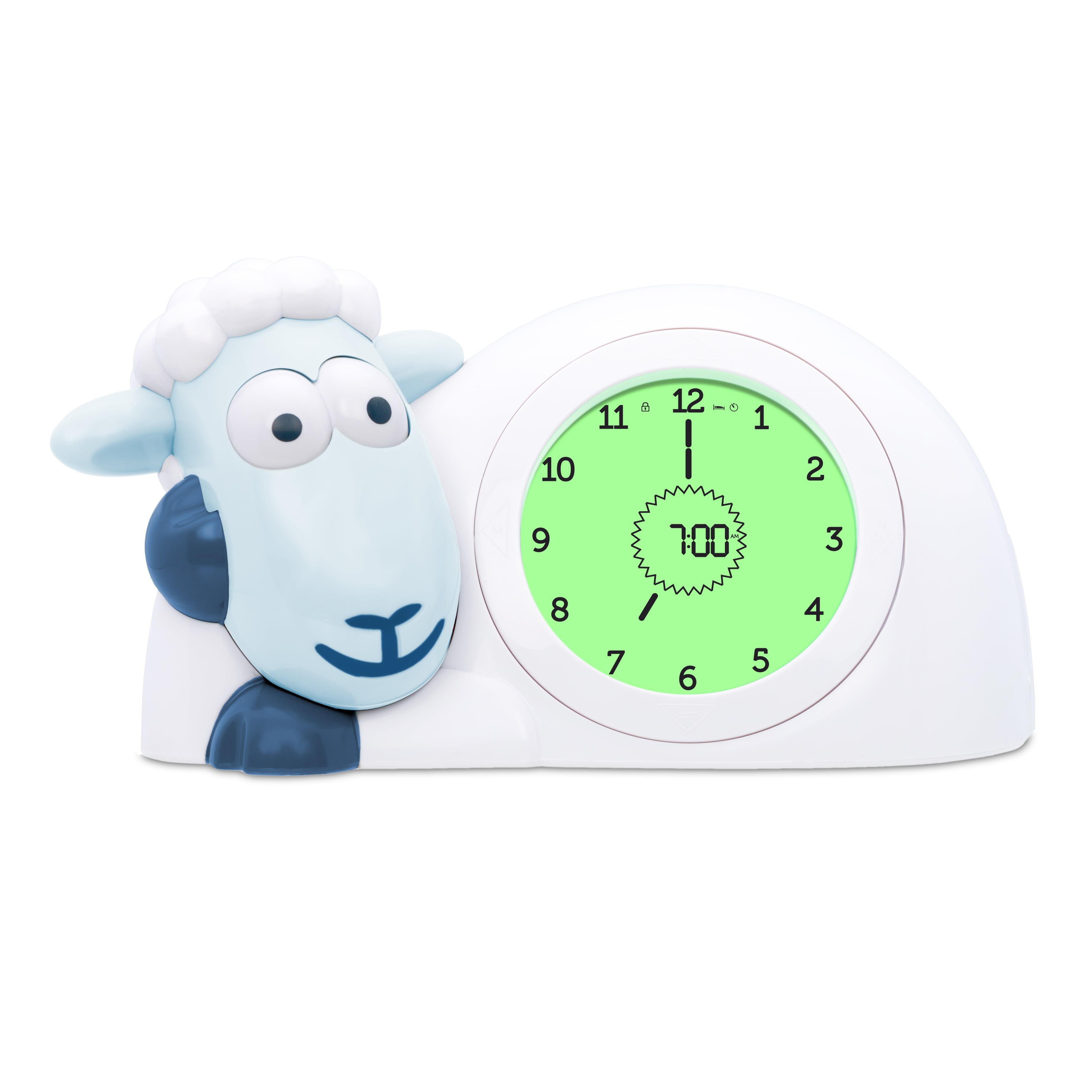 Zazu Kids Sam Sleep Trainer Alarm Clock and Nightlight by Zazu Kids