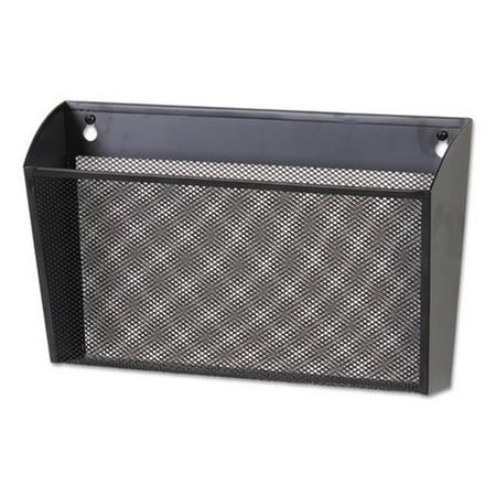 Universal Office Products 20026 Metal Mesh Wall File Single Pocket, -