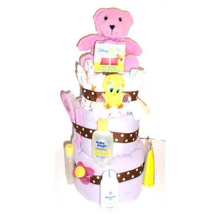Its a Girl! Diaper Cake - Dipper Cake