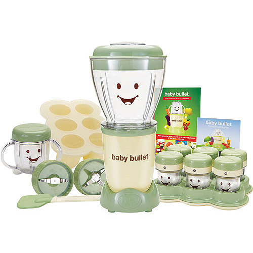As Seen on TV Baby Bullet Baby Food Maker, BPA-Free, 20-Piece Set