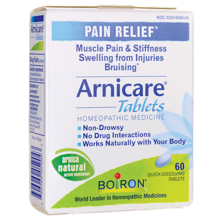 Boiron Arnicare Tablets 60 Tabs - Homeopathic 30 Tabs