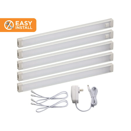 BLACK+DECKER 9-inch LED Under-Cabinet Lights Kit, Warm White