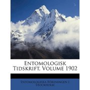 Entomologisk Tidskrift, Volume 1902
