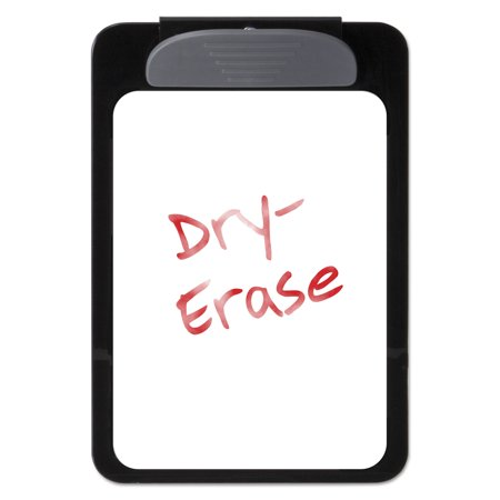 Magnetic Dry-Erase Clipboard, 3/8