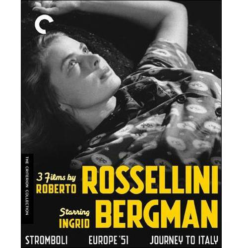3 Films By Roberto Rossellini Starring Ingrid Bergman (Criterion Collection) (Blu-ray)