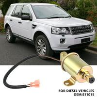 Anauto Oil Pump, Electric Oil Pump,E11015 Electric Fuel Oil Transfer Pump for Diesel Vehicles