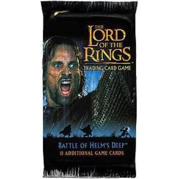 Lord of the Rings Card Game Battle of Helms Deep Booster (Lord Of The Rings Helms Deep Battle Set)